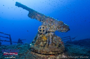kt12 wreck and the cannon